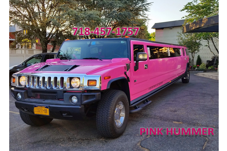New York Wedding Limousine Prom Limo NY Sweet Sixteen Limos - Pink hummer limo long island